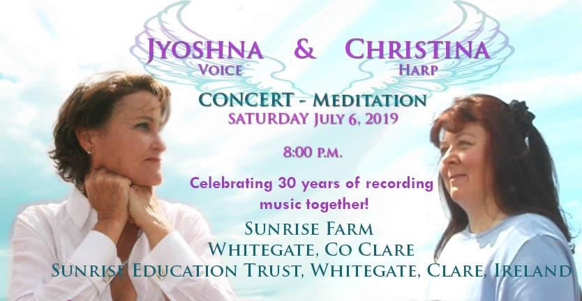 Christina &Jyoshna 6/7/19 concert
